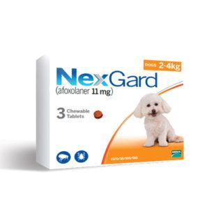 NexGard 2-4 кг - дъвчаща таблетка