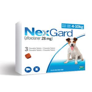 NexGard 4-10 кг - дъвчаща таблетка