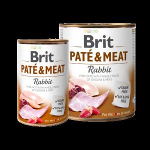 Brit Pate&Meat Rabbit