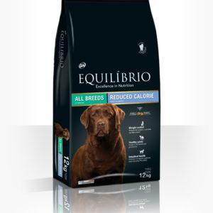 Equilibrio Light All Breeds - Пълноценна, диетична храна от най-висок клас за израснали кучета от всички породи с наднормено тегло и склонност към напълняване. Подходяща е също за кастрирани кучета.