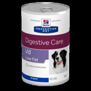 Prescription Diet™ i/d™ Low Fat Canine - консервирана диета за кучета с панкреатит и стомашни смущения, 360г