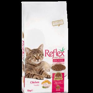 Reflex Adult Cat Chicken - Пълноценна храна с пилешко месо за израснали котки от всички породи