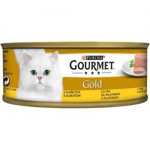 PURINA® GOURMET® Gold  - Пастет,Пиле - Консерва 85 g