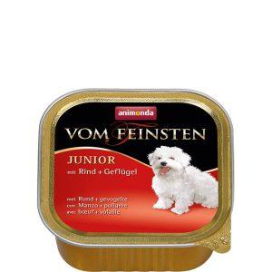 Animonda Vom Feinsten Junior Pate - телешко и птиче - пастет за подрастващи кученца - 150г
