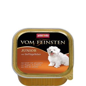Animonda Vom Feinsten Junior Pate - птичи дроб - пастет за подрастващи кученца - 150г