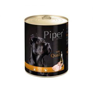Piper - с пъдпъдък - Премиум консервирана храна